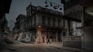 Streets of La Havana, just after the announcement of Fidel Castro's death. Rues de la Havane, juste après l'annonce de la mort de Fidel Castro.